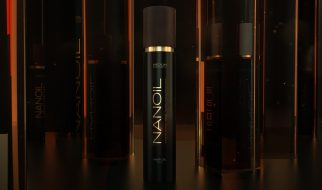 natürlich Haarpflege mit Ölen Nanoil