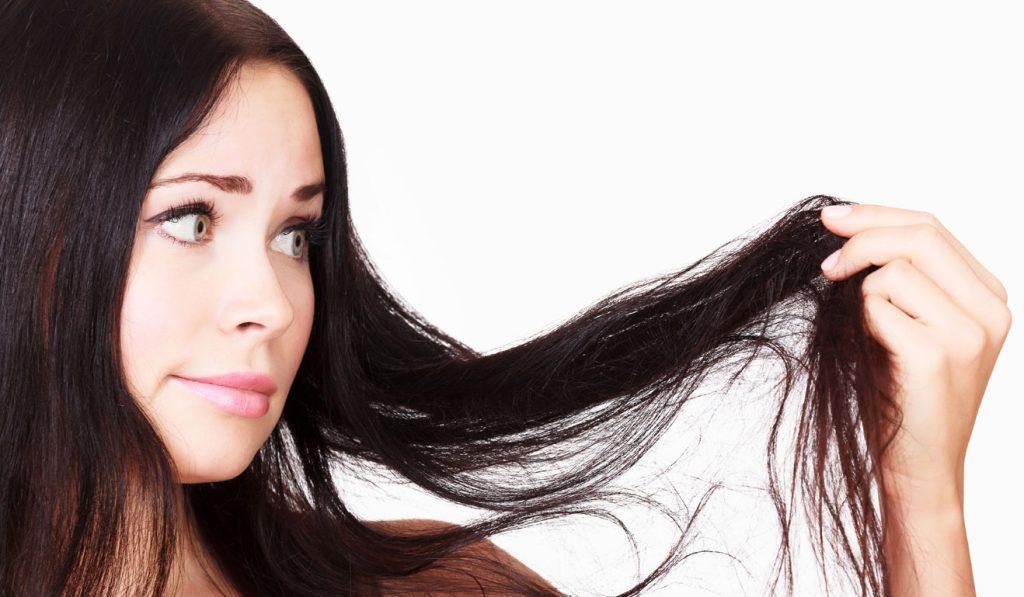 Strapaziertes Haar, Öl hilft